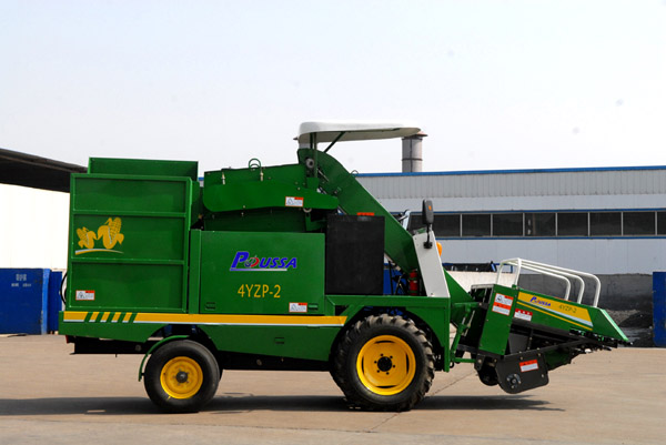Corn Combined Harvester